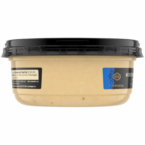 Private Selection® Mediterranean Herb Hummus Perspective: left