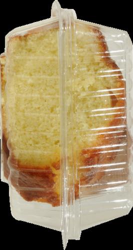 Kroger® Lemon Pudding Cake Slice Perspective: left
