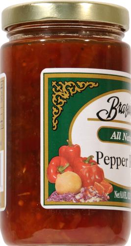 Braswell's Pepper Relish Perspective: left