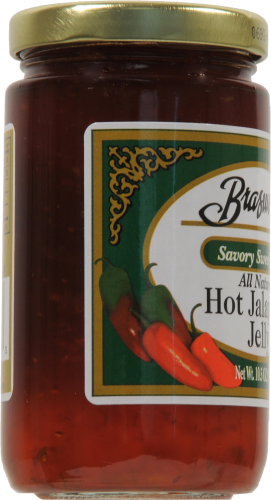 Braswell's Hot Pepper Jelly Perspective: left