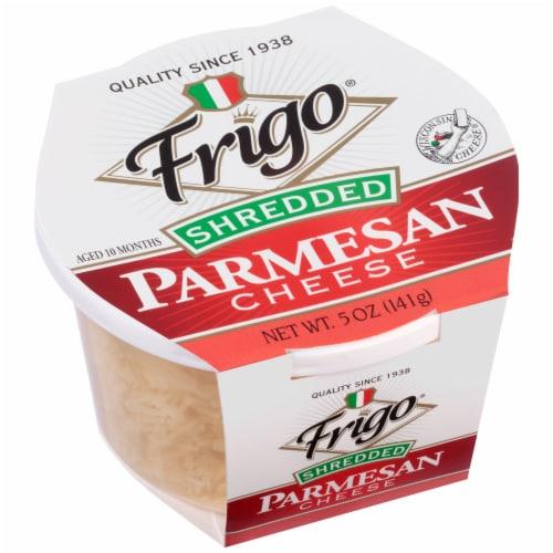 Frigo Shredded Parmesan Cheese Perspective: left