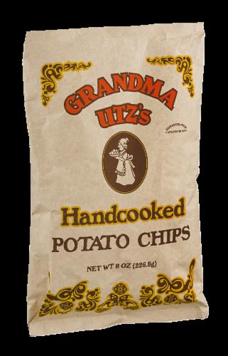 Utz's Grandma Handcooked Potato Chips Perspective: left