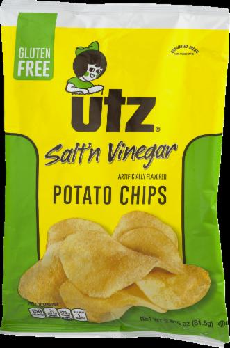 Utz Salt 'n Vinegar Potato Chips Perspective: left
