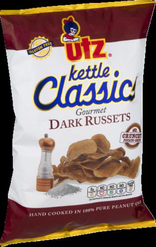 Utz Ketle Classic Dark Russets Potato Chips Perspective: left