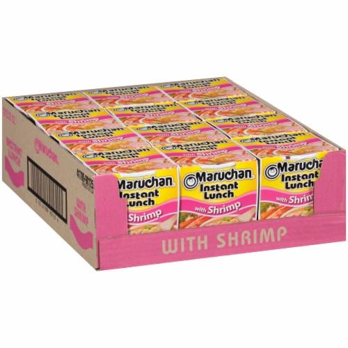 Maruchan® Instant Lunch™ Shrimp Flavor Ramen Noodle Soup Perspective: left