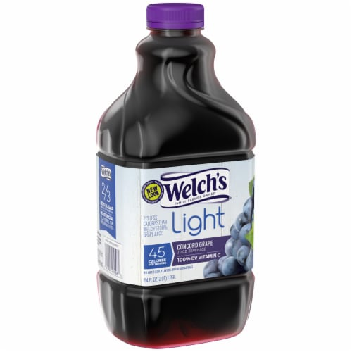 Welch's Light Concord Grape Juice Perspective: left