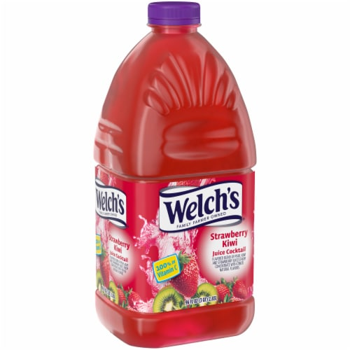 Welch's Strawberry Kiwi Juice Cocktail Perspective: left