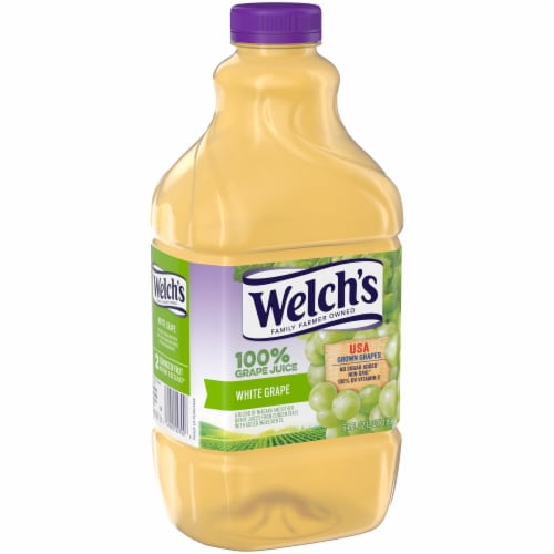 Welch's 100% White Grape Juice Perspective: left