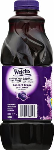 Welch's Concord Grape Juice Cocktail Perspective: left