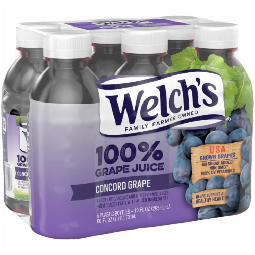 Welch's 100% Concord Grape Juice Perspective: left