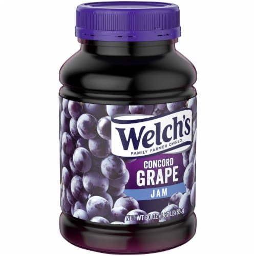 Welch's Concord Grape Jam Perspective: left