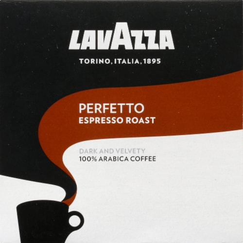 LavAzza Perfetto Espresso Roasted Ground Coffee K-Cup Pods Perspective: left