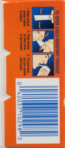 Goody's Cool Orange Headache Powders 24 Count Perspective: left