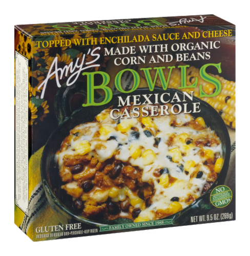 Amy's Mexican Casserole Bowl Perspective: left