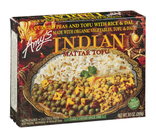 Amy's Indian Matter Tofu Perspective: left