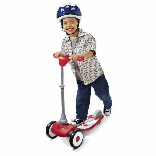 Radio Flyer My 1st Scooter Sport Model with 3 Wheel Design for Ages 2 to 5, Red Perspective: left