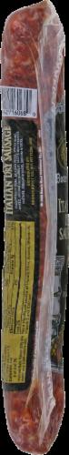 Boar's Head Hot Dry Italian Sausage Perspective: left