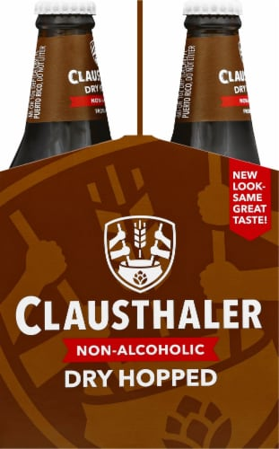 Clausthaler Golden Amber Non Alcoholic Perspective: left