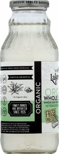 Lakewood Organic Pure Whole Leaf Aloe Juice Perspective: left