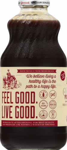 Lakewood Organic Pure Prune Juice Perspective: left
