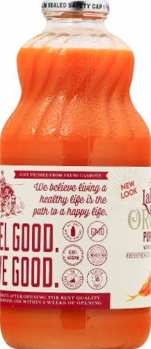 Lakewood Organic Pure Carrot Juice Perspective: left