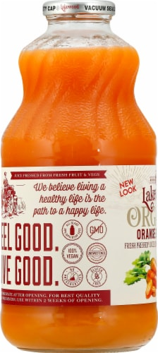 Lakewood Orange & Carrot Juice Perspective: left