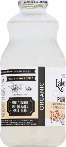 Lakewood Organic Pure Aloe Juice Perspective: left