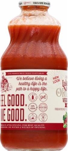 Lakewood Organic Super Veggie Juice Perspective: left