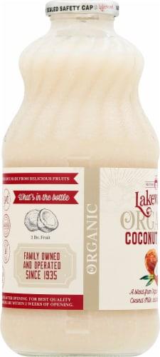 Lakewood Organic Coconut Juice Perspective: left