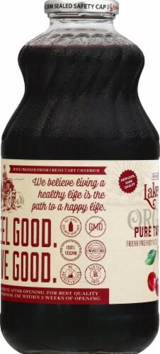 Lakewood Organic Pure Tart Cherry Juice Perspective: left