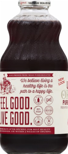 Lakewood Organic Pomegranate Juice Perspective: left