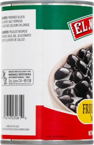 El Mexicano Frijoles Negros Black Beans Perspective: left