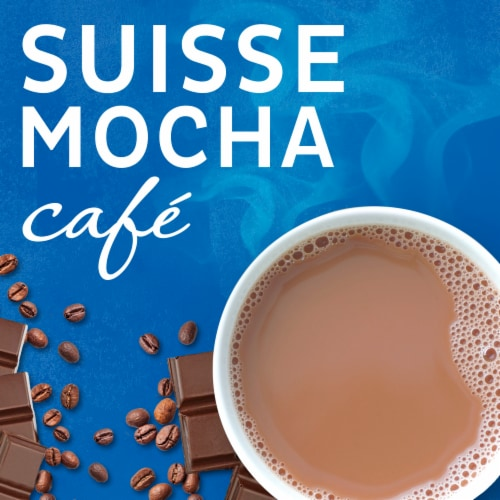 Maxwell House International Café Suisse Mocha Decaf Sugar Free Coffee Perspective: left