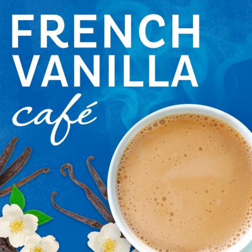 Maxwell House International French Vanilla Cafe-Style Beverage Mix Perspective: left