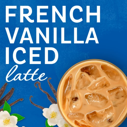 Maxwell House International French Vanilla Iced Latte Mixes Perspective: left