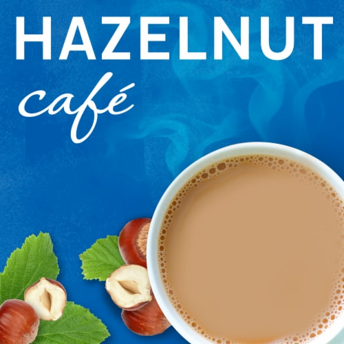 Maxwell House International Hazelnut Café-Style Beverage Mix Perspective: left