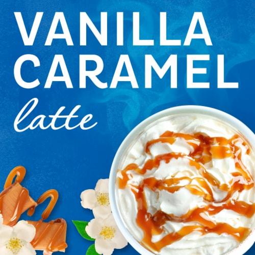 Maxwell House International Vanilla Caramel Latte Mix Perspective: left