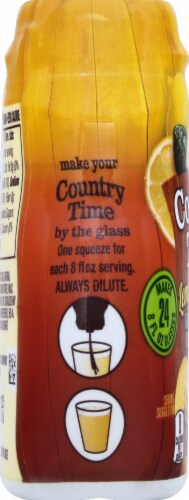 Country Time Lemon Iced Tea Flavored Drink Mix Perspective: left