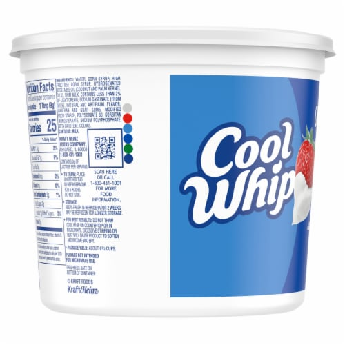 Cool Whip Original Whipped Topping Perspective: left
