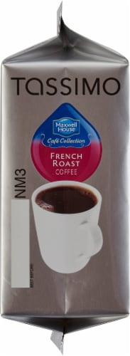 Tassimo Maxwell House French Bold Roast Coffee T Discs Perspective: left
