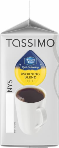 Tassimo Maxwell House Morning Blend Mild Roast Coffee T Discs Perspective: left