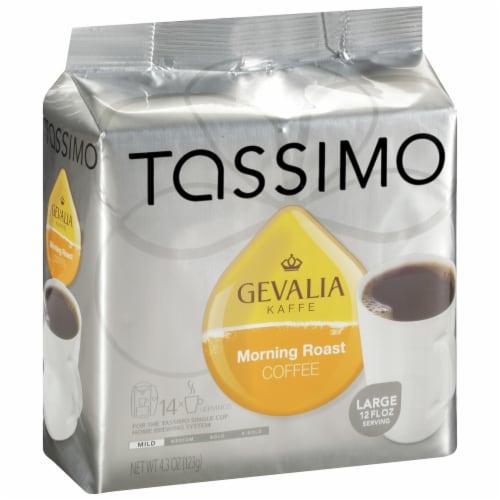 Tassimo Gevalia Morning Medium Roast Coffee T Discs Perspective: left
