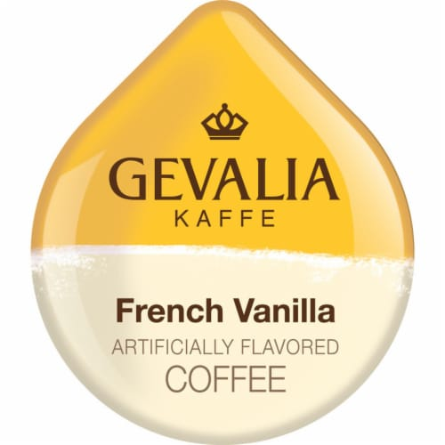 Tassimo Gevalia French Vanilla Medium Roast Coffee T Discs Perspective: left