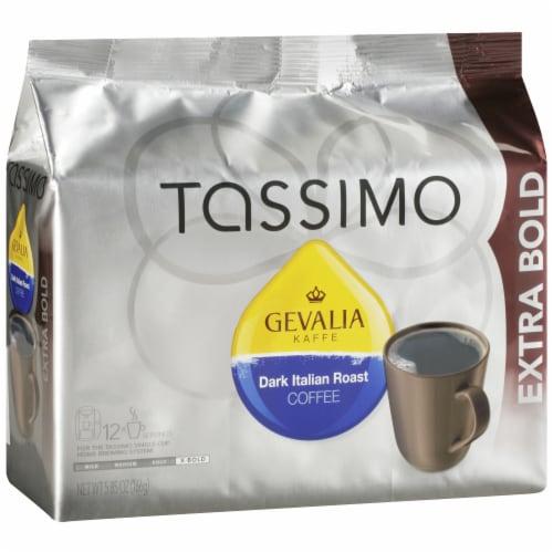 Tassimo Gevalia Dark Italian Roast Coffee T Discs Perspective: left