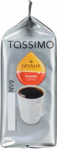 Tassimo Gevalia Colombia Medium Roast Coffee T Discs Perspective: left