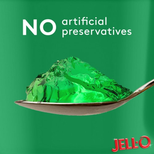 Jell-O Sugar Free Lemon-Lime Gelatin Snacks - 4 Count Perspective: left