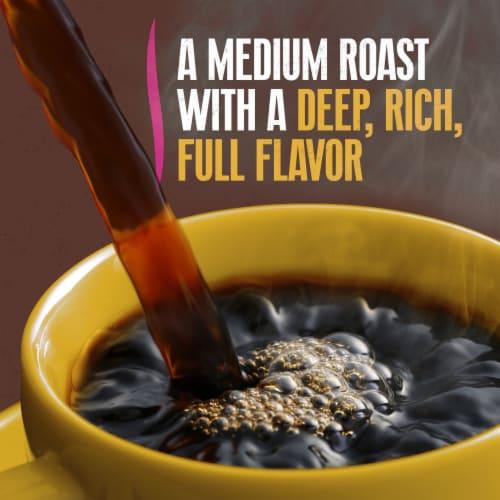 Yuban Traditional Medium Roast Ground Coffee Perspective: left