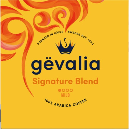 Gevalia Signature Blend Mild Roast Coffee K-Cup Pods Perspective: left