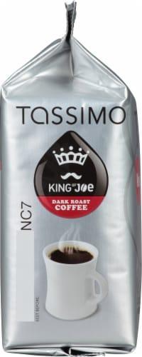 Tassimo King of Joe Bold Dark Roast Coffee T Discs Perspective: left