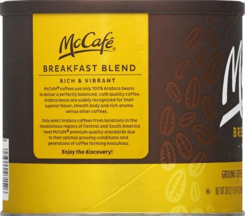 McCafé Light Roast Breakfast Blend Ground Coffee Perspective: left